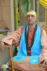 Bild: Swami Niranjan in Meditation