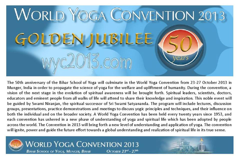 World Yoga Convention