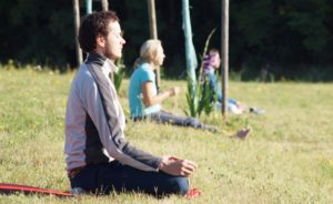 Bild: Yoga-Ashram-Retreat